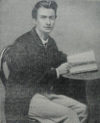 Николай Егорович Жуковский в студенческие годы